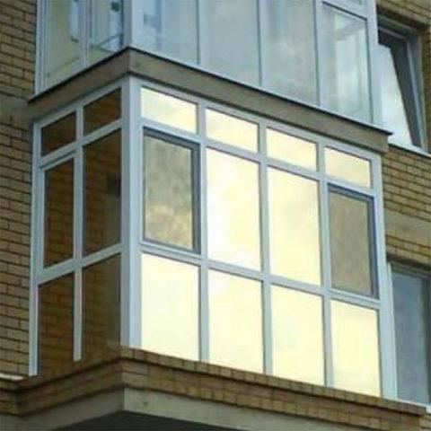 Картинка панорамный балкон